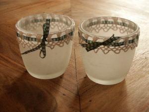 Upcycling Kerzenglas
